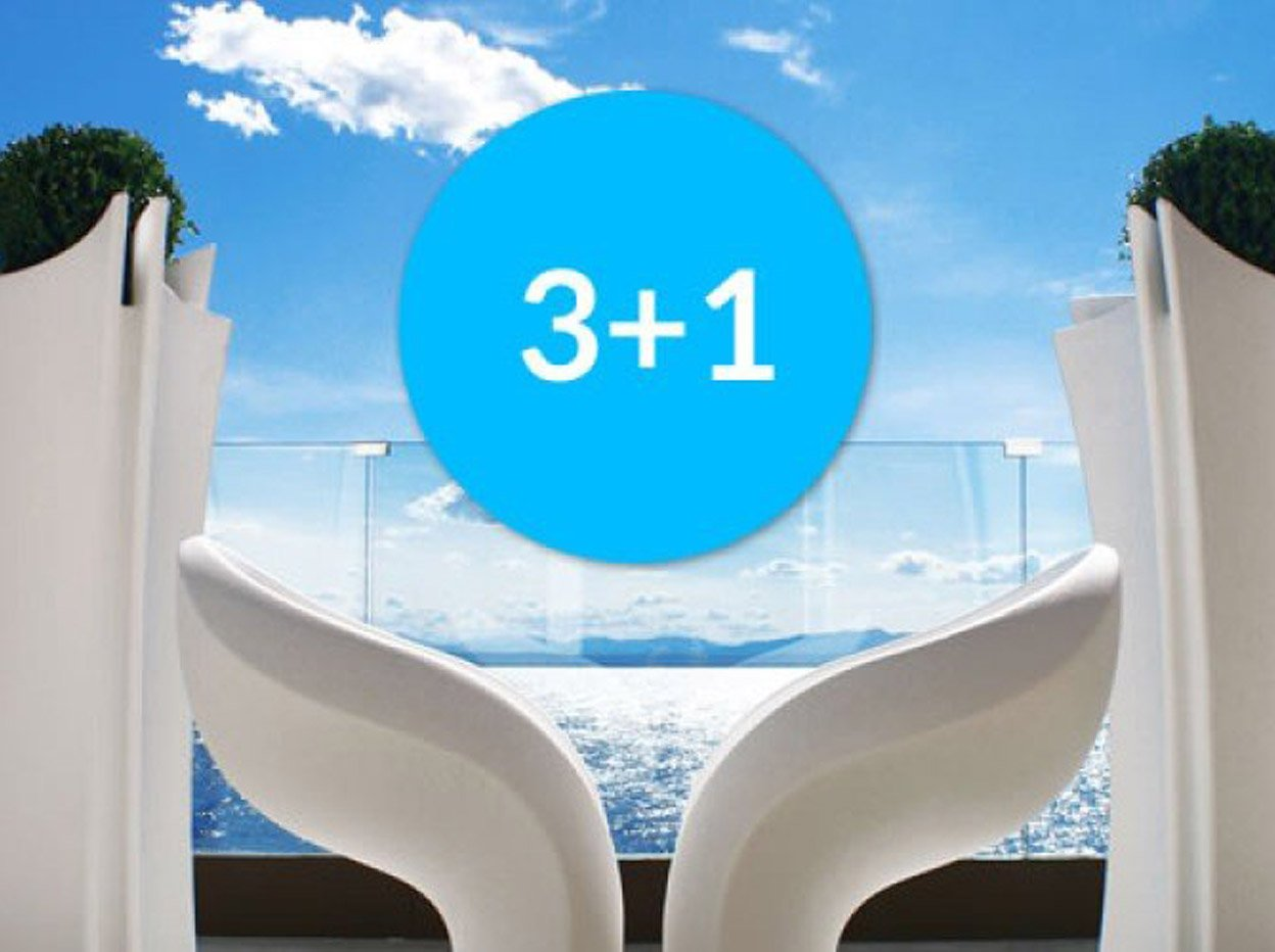 Forfait 3+1 hotel a Roses