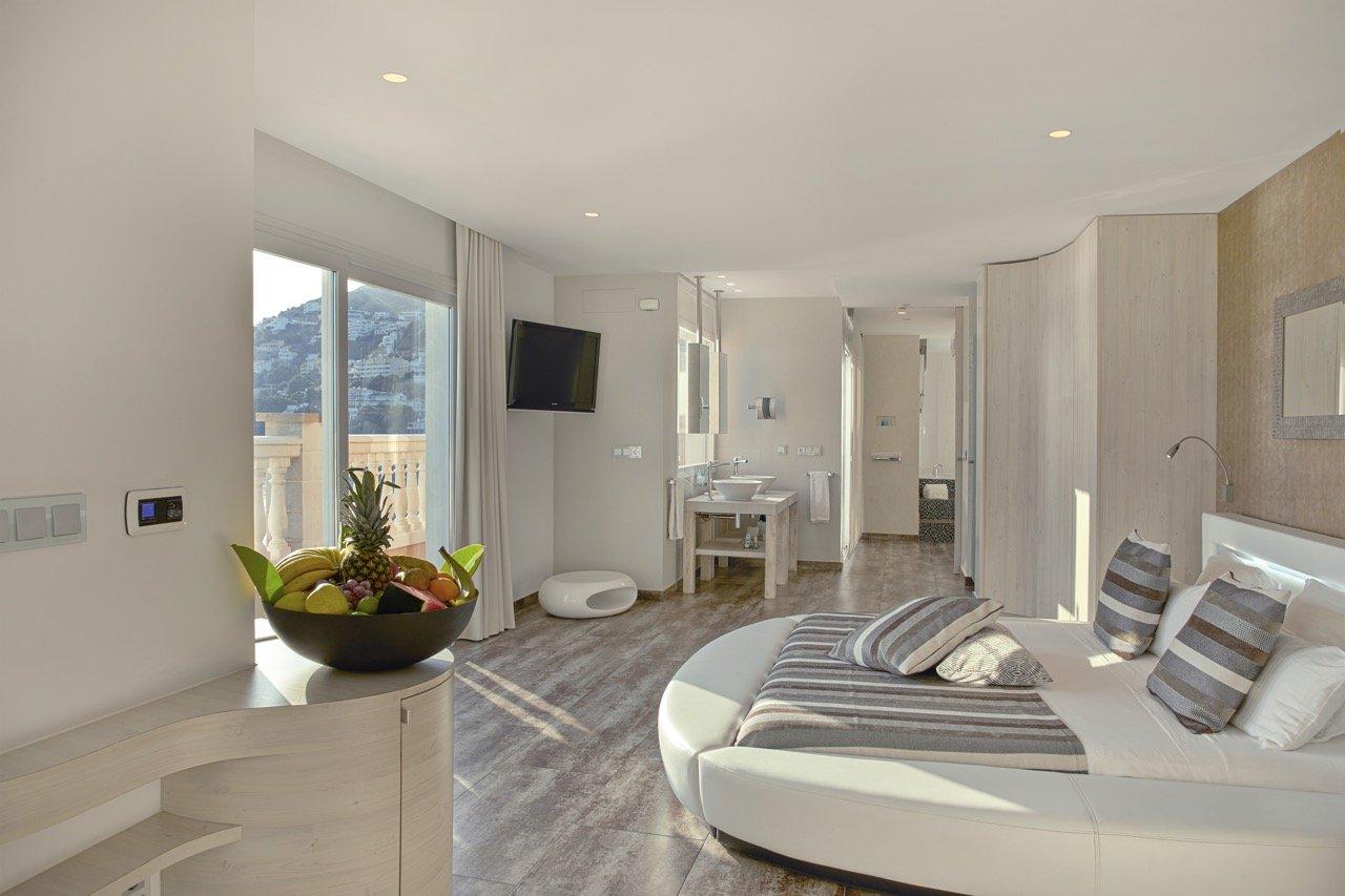 Penthouse Suite amb vistes al mar a Roses